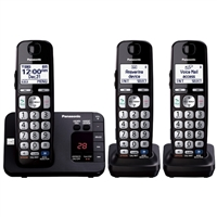 Panasonic DECT 6.0 Plus Digital Cordless Answering System w/ 3 Handsets