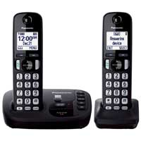 Panasonic Dect 6.0 Plus Expandable Digital Phone w/ 2 Handsets