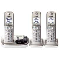 Panasonic Dect 6.0 Plus Expandable Digital Phone w/ 3 Handsets