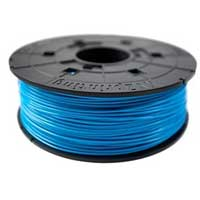 XYZprinting Blue ABS Plastic Filament Cartridge 1.75mm 600g (1.3 lbs)