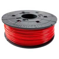 XYZprinting Red ABS Filament Cartridge 600g