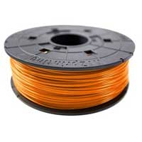 XYZprinting Tangerine ABS Filament Cartridge 600g