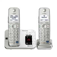 Panasonic Dect 6.0 Plus Bluetooth with Answering Machine - 2 Handsets