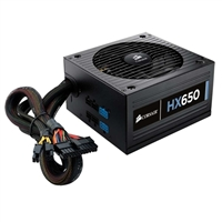 Corsair HX Series HX650 650 Watt ATX 12V Modular Power Supply Refurbished