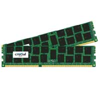 Crucial 32GB DDR3-1866 (PC3-14900) CL13 Unbuffered Desktop Memory Kit (Two 16GB Memory Modules) - for Mac Pro Systems