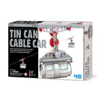 Toysmith Tin Can Cable Car