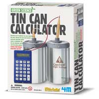 Toysmith 4M Tin Can Calculator