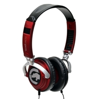 Ecko Unltd. EKU-MTN-RD Motion On Ear Headphones w/ Mic - Red