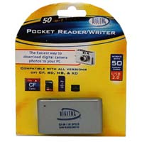 Sakar CR-72 50-in-1 USB Card Reader