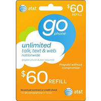 InComm AT&T $60 REFILL
