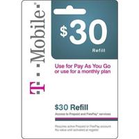 InComm T-MOBILE $30 REFILL