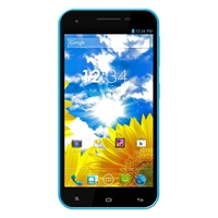 BLU Studio 5.5 D610A Unlocked GSM Dual-SIM Android Smartphone - Blue