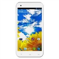 BLU Studio 5.5 D610A Unlocked GSM Dual-SIM Android Smartphone - White