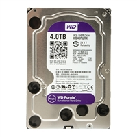 "WD Purple Surveillance Storage 4TB Intellipower SATA III 6Gb/s 3.5"" Hard Disk Drive WD40PURX - OEM"