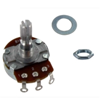 MCM Electronics 10k Ohm 1/2 Watt Linear Taper Potentiometer - 2 Pack