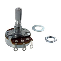 MCM Electronics Potentiometer Linear Taper 1/2 Watt 50K Ohm - 2 Pack