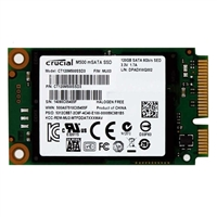 Crucial M500 120GB mSATA 6Gb/s Internal Solid State Drive (CT120M500SSD3)