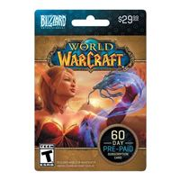 InComm Blizzard - WOW 60-day Subscription Card $29.99
