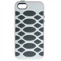 WinBook White/Gray iPhone 5/5s Protection Case