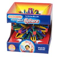 TEDCO Toys Mini Rainbow Hoberman Sphere