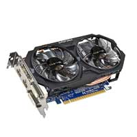 Gigabyte GV-N75TOC-2GI Nvidia GeForce GTX 750Ti 2GB OC PCIe 3.0x16 Video Card