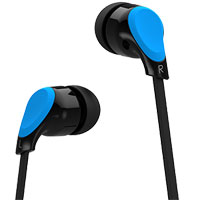 Blaupunkt BPA-1700 High Performance Stereo Earphones - Blue