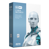 ESET Cyber Security 2014 1-Year 1-User (Mac)