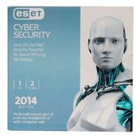 ESET Cyber Security 2014 - 1 Device, 2 Years OEM (Mac)