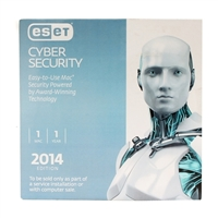 ESET Cyber Security 2014 1 User 1 Year OEM (Mac)