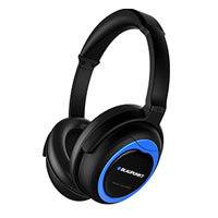 Blaupunkt BPA-402NC Noise Cancelling On Ear Headphones - Black