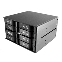 "Vantec EZ Swap M2500 8-Bay 2.5"" SATA/SAS HDD/SSD Mobile Rack"