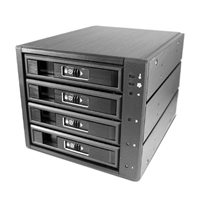 "Vantec EZ Swap M3500 4-Bay 3.5""/2.5"" SATA/SAS HDD/SSD Mobile Rack"