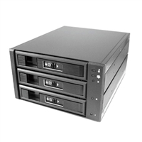 "Vantec EZ Swap M3500 3-Bay 3.5""/ 2.5"" SATA/SAS HDD/SSD Mobile Rack"