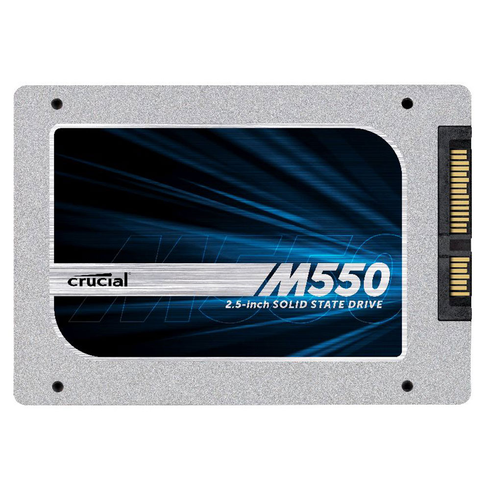 "Crucial M550 128GB SATA 6Gb/s 2.5"" 7mm Internal Solid State Drive"