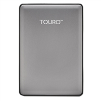HGST Touro S 500GB 7,200 RPM USB 3.0 - 3GB of Cloud Storage Ultra-Portable External Hard Drive - Platinum
