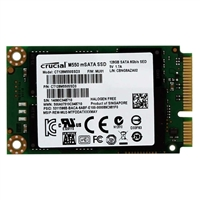 Crucial M550 128GB mSATA 6.0Gbs 3.75mm Internal Solid State Drive