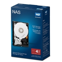 "WD Red Network 4TB Intellipower SATA III 6Gb/s 3.5"" Internal NAS Hard Drive - WDBMMA0040HNCNRSN"