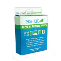 Shield Me Lens Cleaning Wipes - 40 count