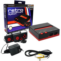 NES Game Console - Top Loader Black/Red