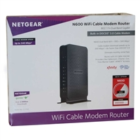 NetGear C3700-100NAS N600 WiFi Cable Modem Router