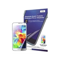 Green Onions Supply Crystal Oleophobic Screen Protector for Samsung Galaxy S5 - 2 Pack