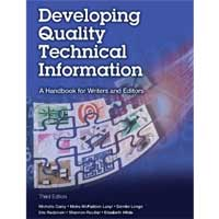 Pearson/Macmillan Books Developing Quality Technical Information: A Handbook for Writers and Editors, 3rd Edition