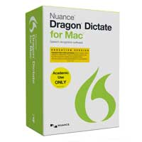 Nuance Dragon Dictate for Mac v4 Student/Teacher