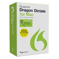 Nuance Dragon Dictate for Mac v4 Wireless Keycard