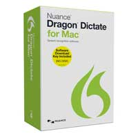 Nuance Dragon Dictate for Mac v4 Keycard