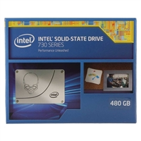 "Intel 730 Series 480GB SATA III 6Gb/s 2.5"" Internal Solid State Drive (SSD)"
