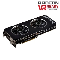 XFX R9290AEDFD AMD Radeon R9 290 Double Dissipation 4GB DDR5 PCIe 3.0x16 Video Card