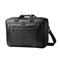 "Samsonite Classic Business Perfect Fit Two Gusset Laptop Bag Fits Screens up to 15.6"" - Black"