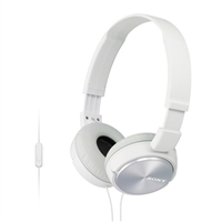 Sony MDR-ZX310AP/W ZX Series Headband Stereo Headset