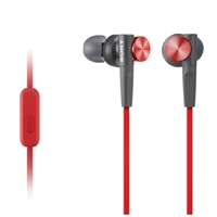 Sony MDR-XB50AP/R Extra Bass Earbud Headset